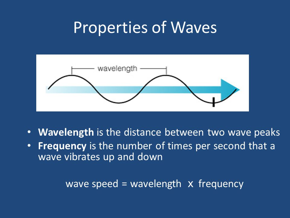 Waves A wave is a pattern of motion that can carry energy without carrying matter along with it