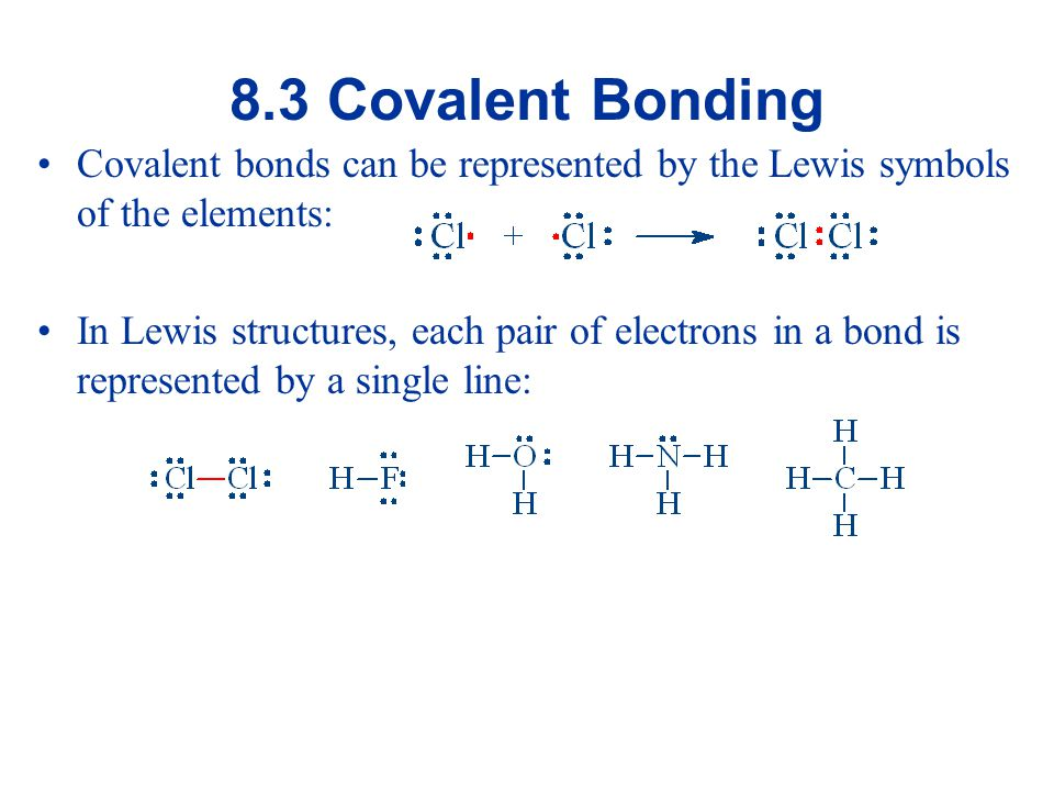 Multiple Bonds It is possible for more than one pair of electrons to be shared between two atoms, i.e.