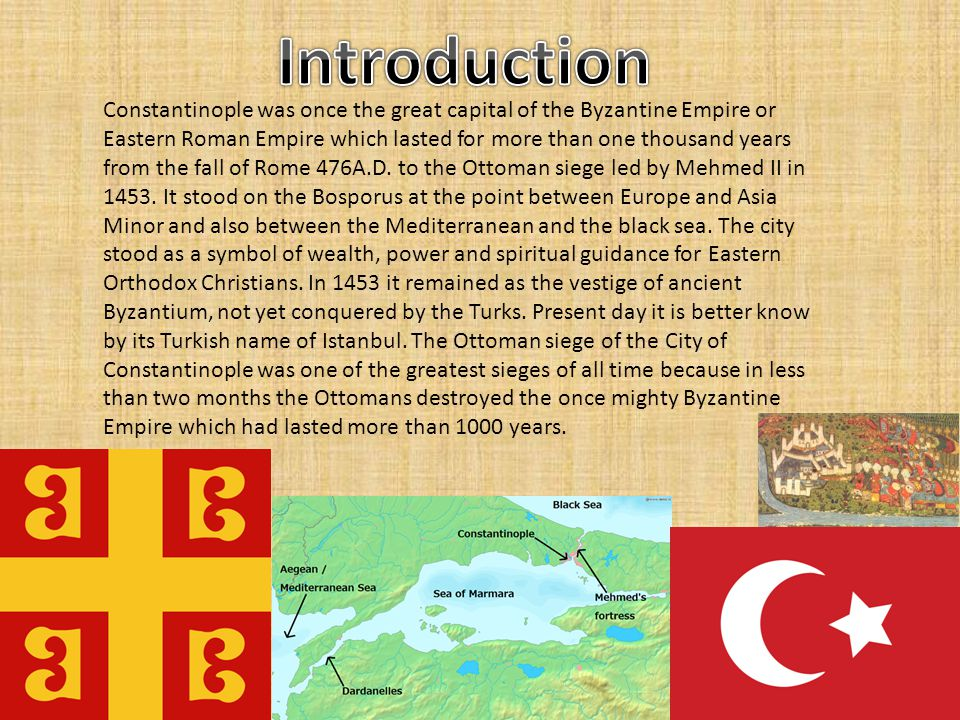Mehmed II started his siege of Constantinople in early April 1453, with and army of 120,000 men against a defender force of 12,000.