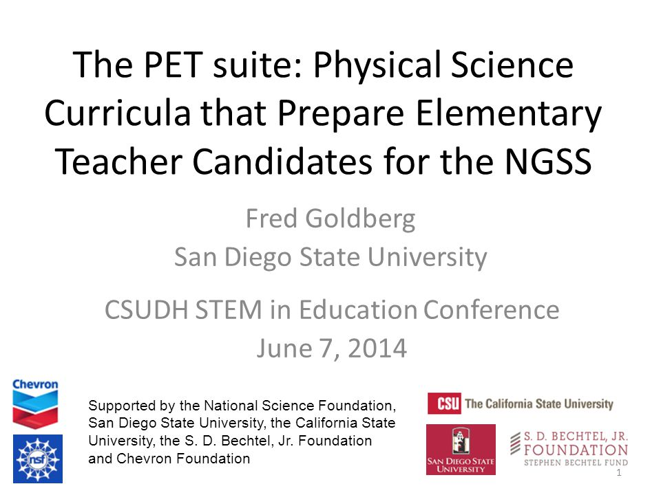 The Physics and Everyday Thinking Suite of Curricula 2 A main goal is for students to see that the core ideas of physical science emerge from engagement in the practices