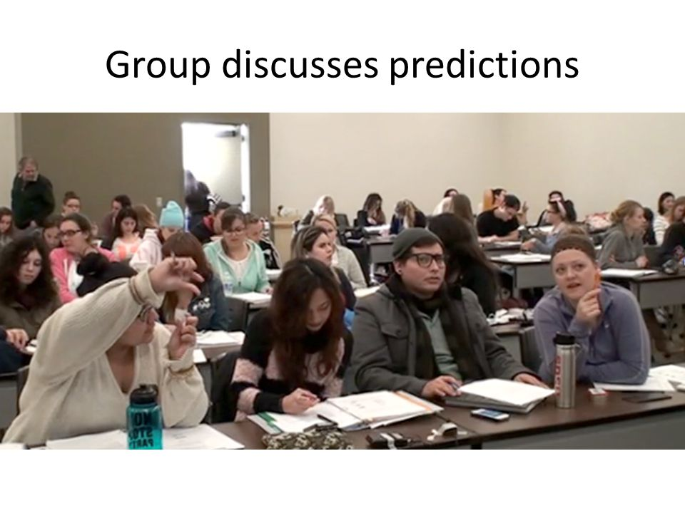 Group discusses predictions