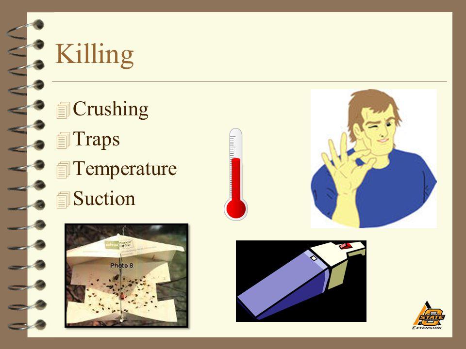 Killing 4 Crushing 4 Traps 4 Temperature 4 Suction