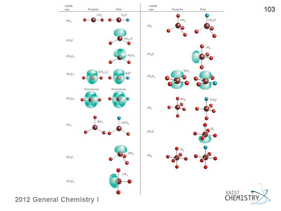 2012 General Chemistry I 103