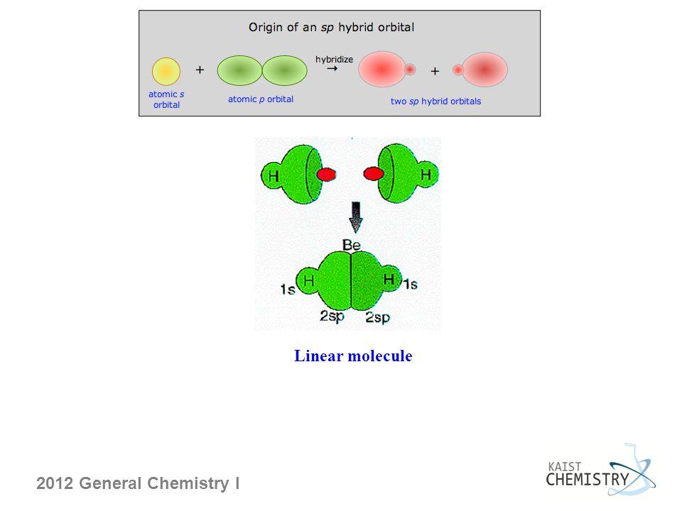 2012 General Chemistry I Linear molecule