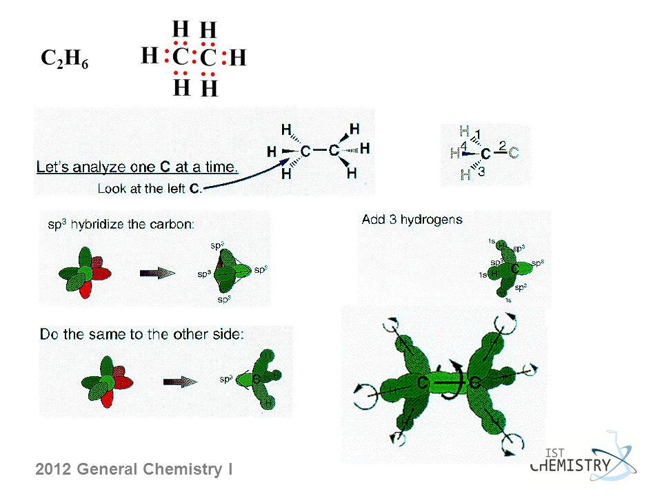 2012 General Chemistry I C2H6C2H6