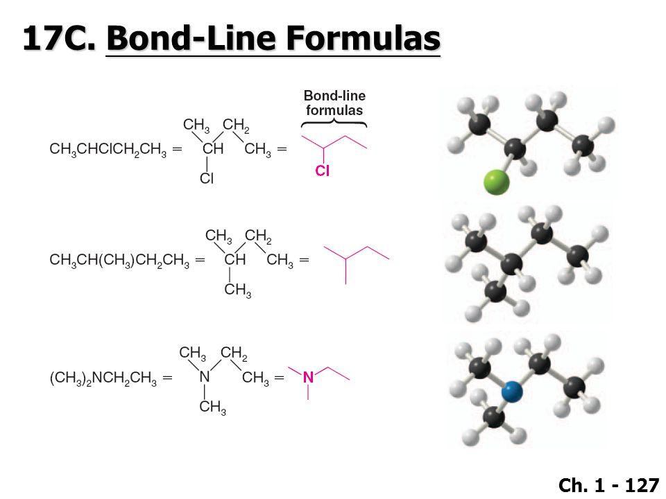 Ch. 1 - 127 17C. Bond-Line Formulas