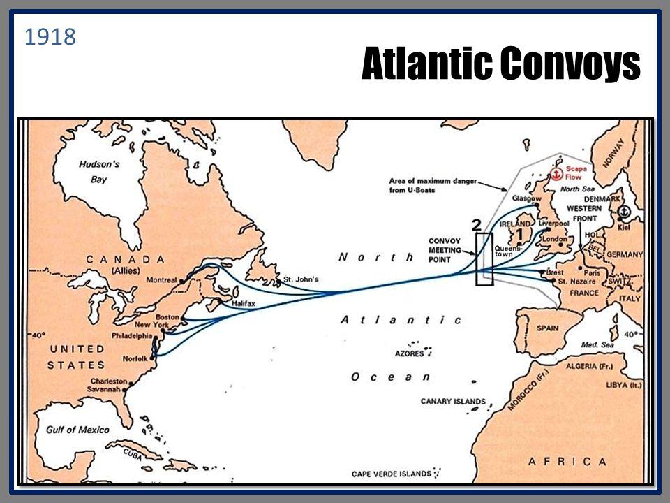 Atlantic Convoys 1918
