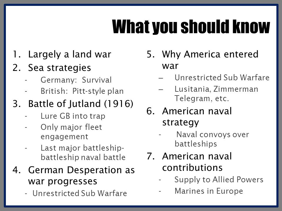 What was the naval threat.