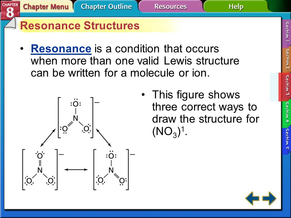Section 8-3 Structural Formulas (cont.) Atoms within a polyatomic ion are covalently bonded.