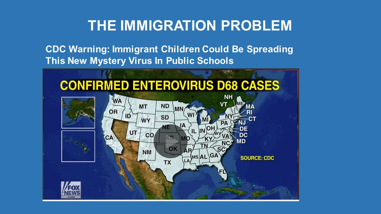 THE IMMIGRATION PROBLEM CDC Warning: Immigrant Children Could Be Spreading This New Mystery Virus In Public Schools