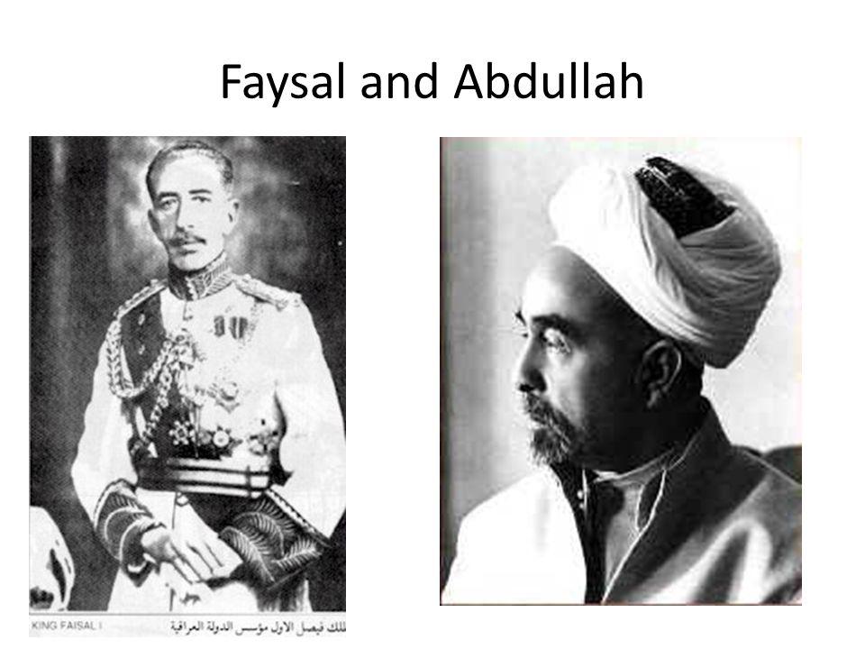 Faysal and Abdullah