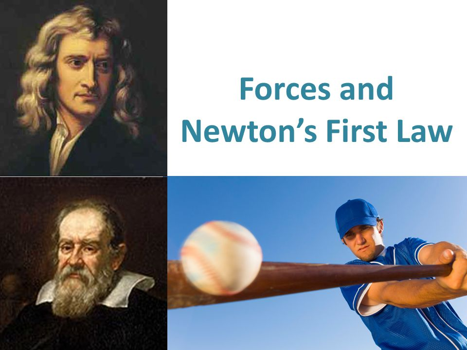 Forces and Newton's First Law
