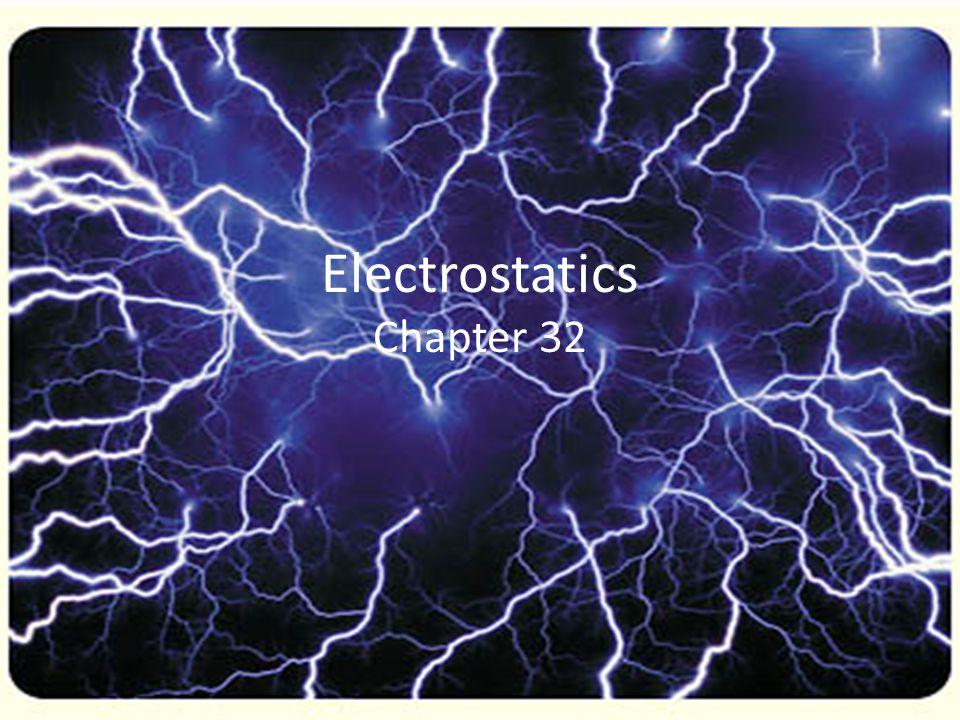 Electrostatics Chapter 32