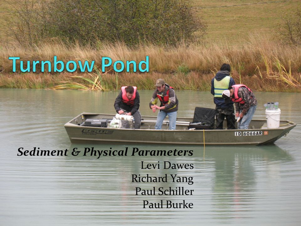 Sediment & Physical Parameters Levi Dawes Richard Yang Paul Schiller Paul Burke