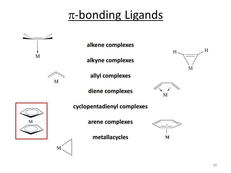  -bonding Ligands 85