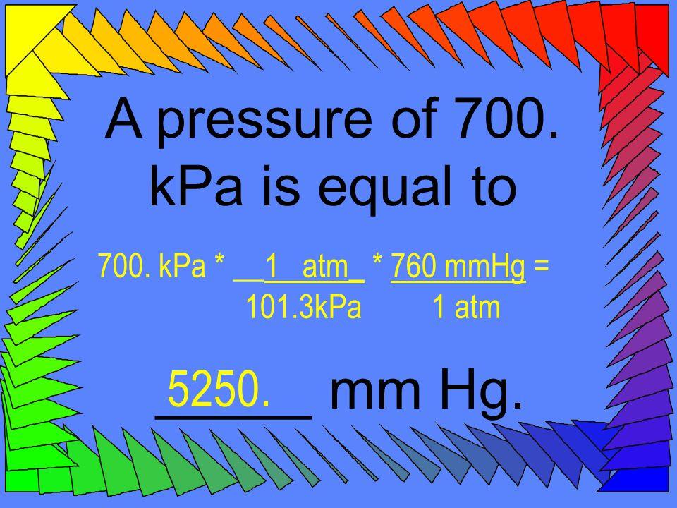 The average atmospheric pressure in Denver is 0.830 atm.