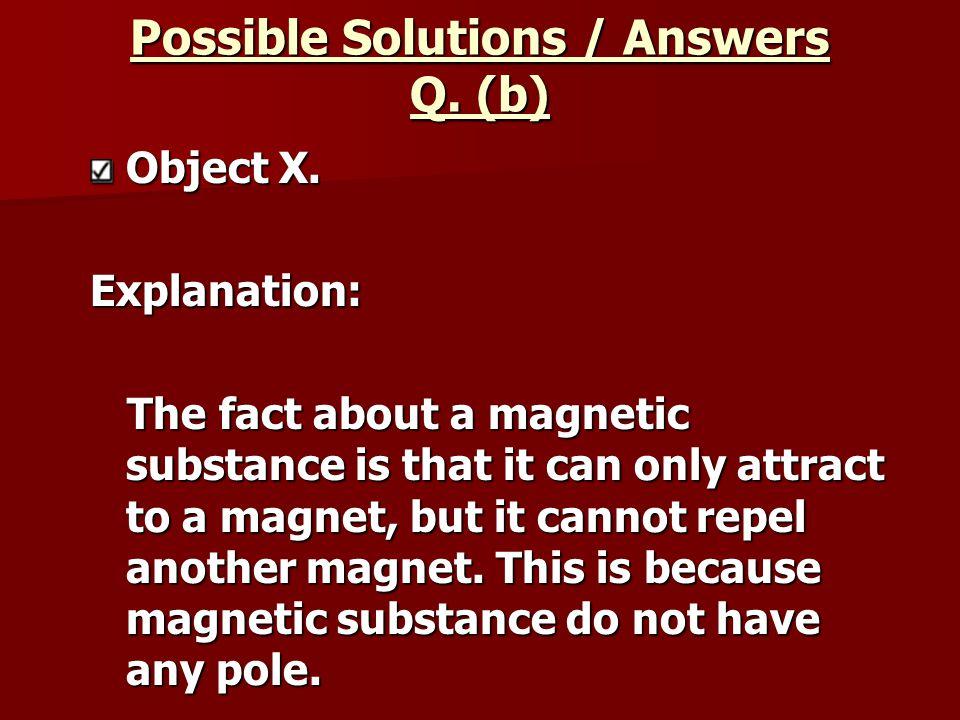 Object X.