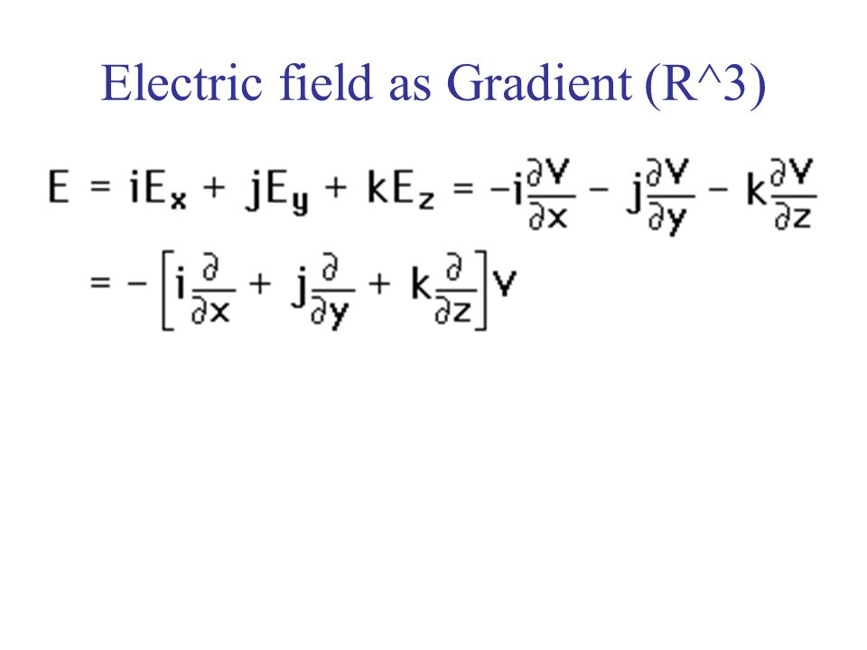Constant Electric Field