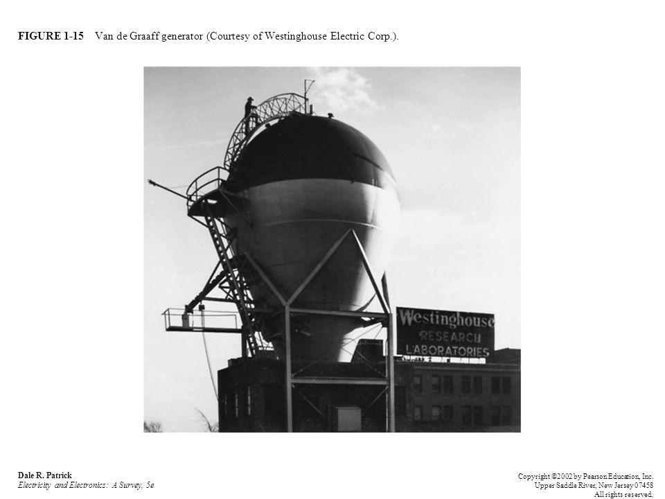 FIGURE 1-15 Van de Graaff generator (Courtesy of Westinghouse Electric Corp.).