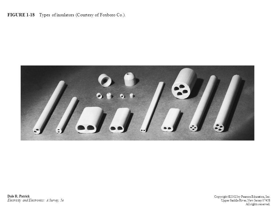 FIGURE 1-18 Types of insulators (Courtesy of Foxboro Co.).