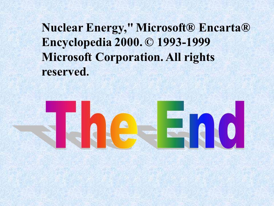 Nuclear Energy,
