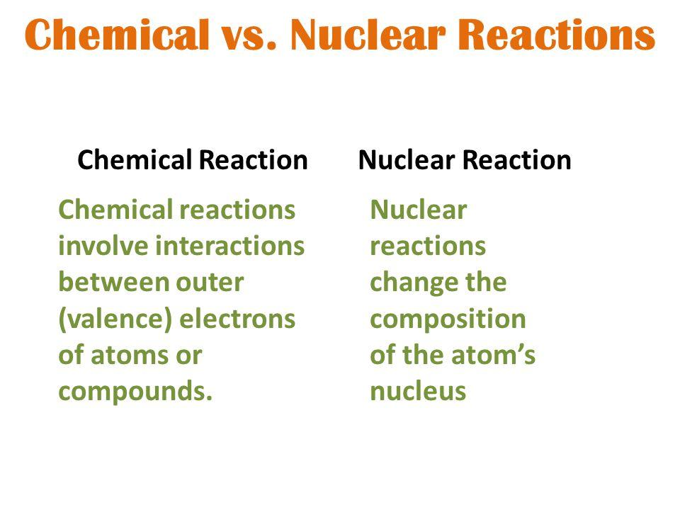 Chemical vs.