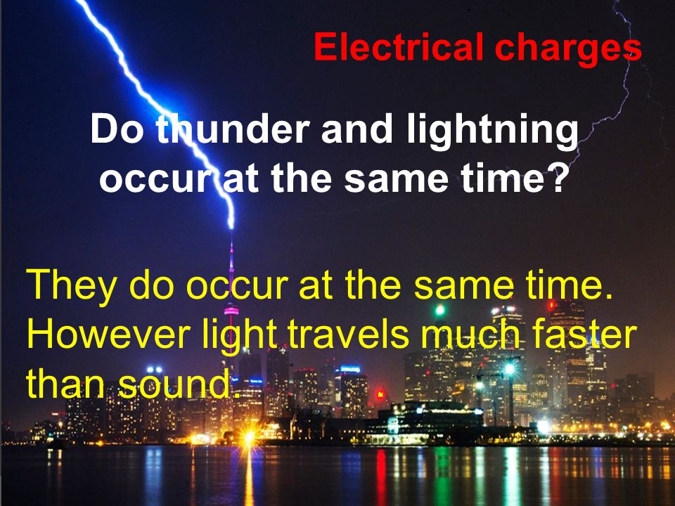 ELECTRICAL CHARGES ¿Do you think all objects have electric charges.