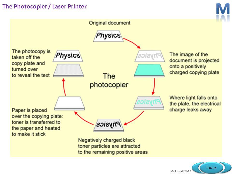 Mr Powell 2012 Index The Photocopier / Laser Printer