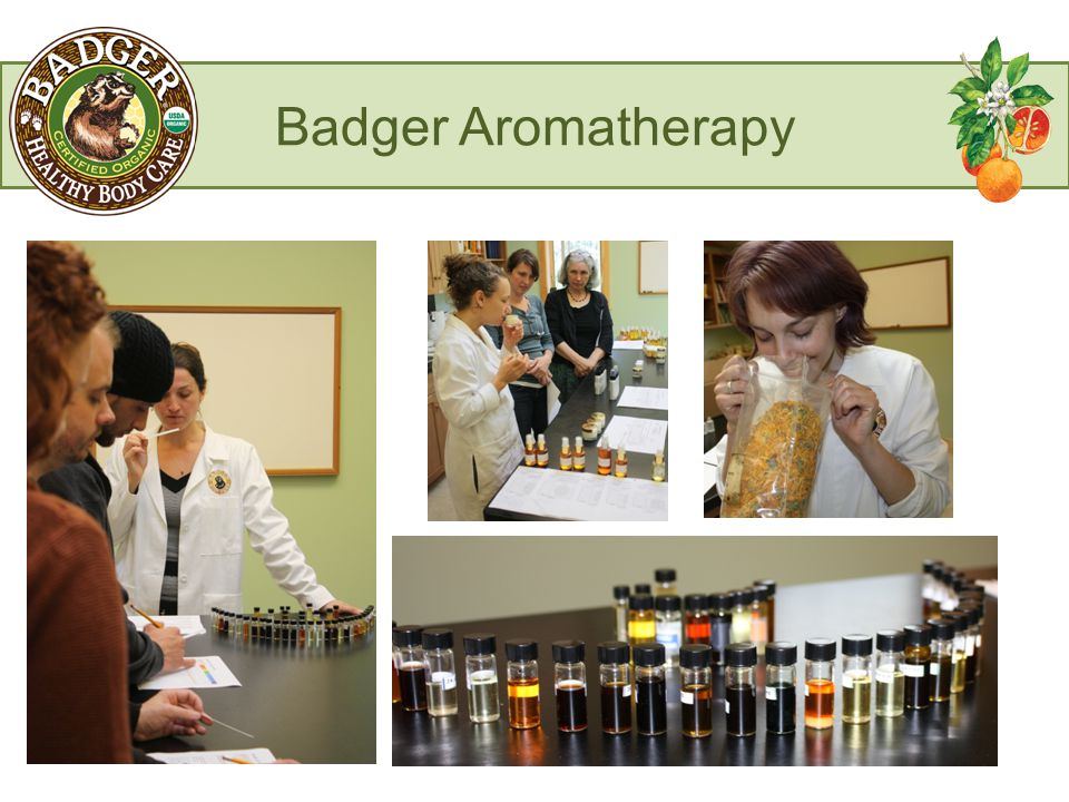Badger Aromatherapy