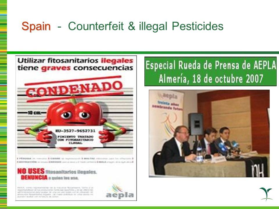 Paraguay Paraguay - preparation for raid Prior illegal product smuggled into Brazil, China link