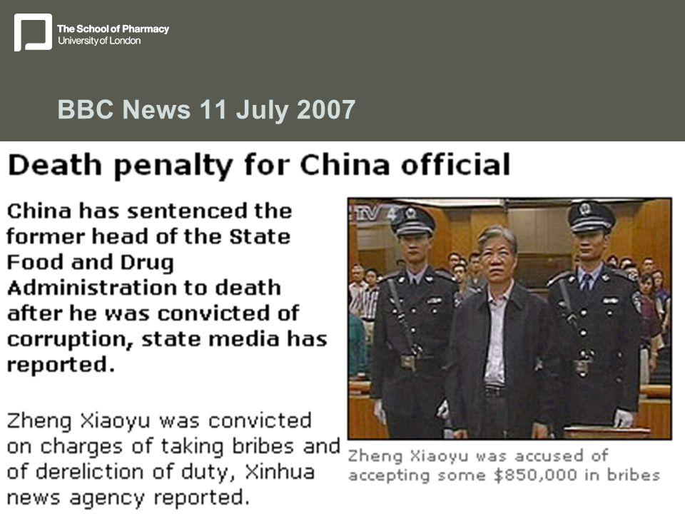 BBC News 11 July 2007