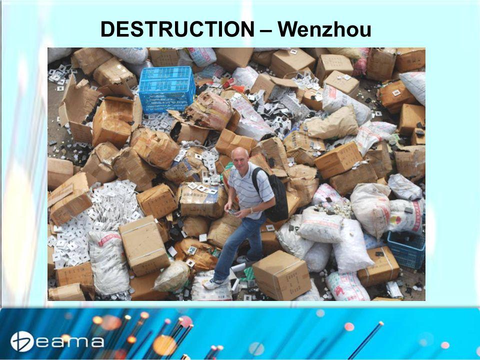 DESTRUCTION – Wenzhou