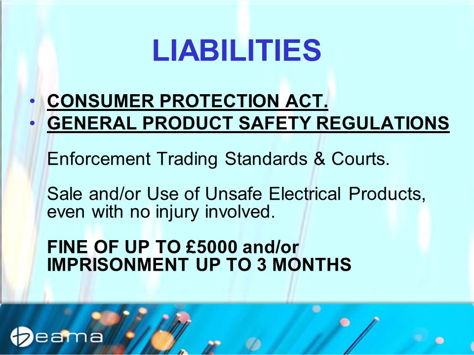 LIABILITIES CONSUMER PROTECTION ACT.