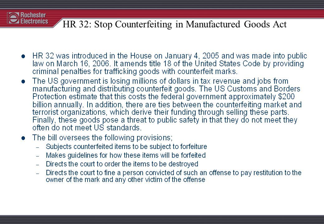 U.S.C. TITLE 18 - 2320 § 2320. Trafficking in Counterfeit Goods or Services (a) Whoever intentionally traffics or attempts to traffic in goods or serv