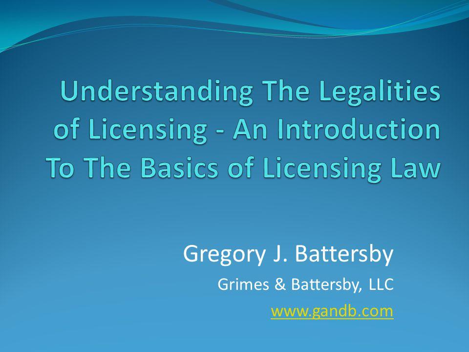 Gregory J. Battersby Grimes & Battersby, LLC www.gandb.com
