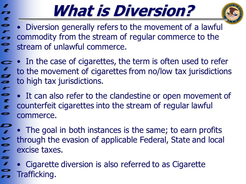 What is Diversion.