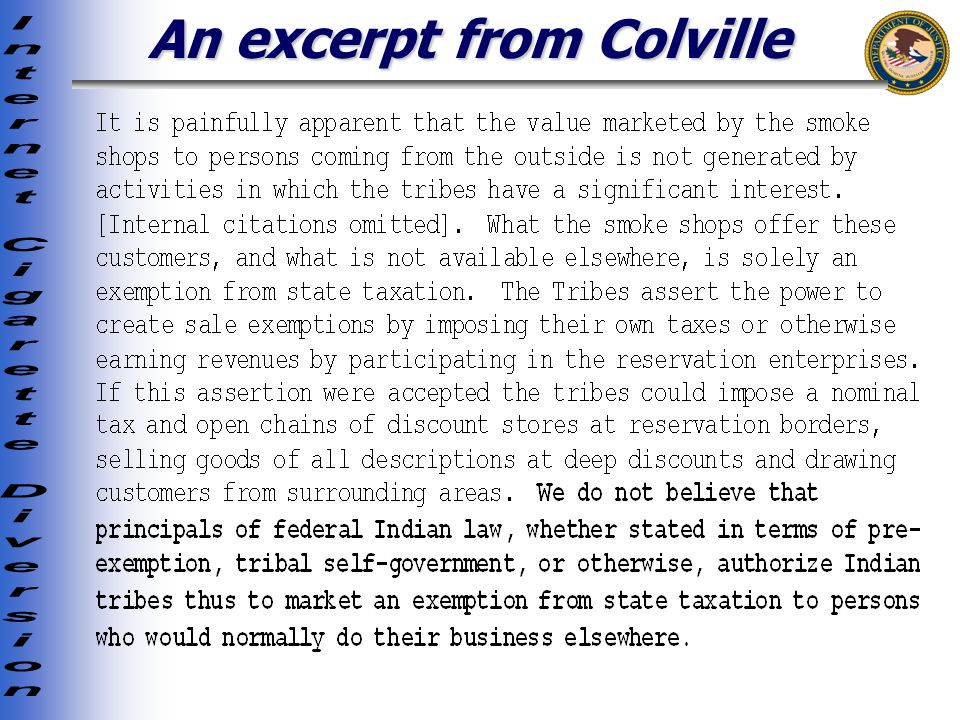 An excerpt from Colville