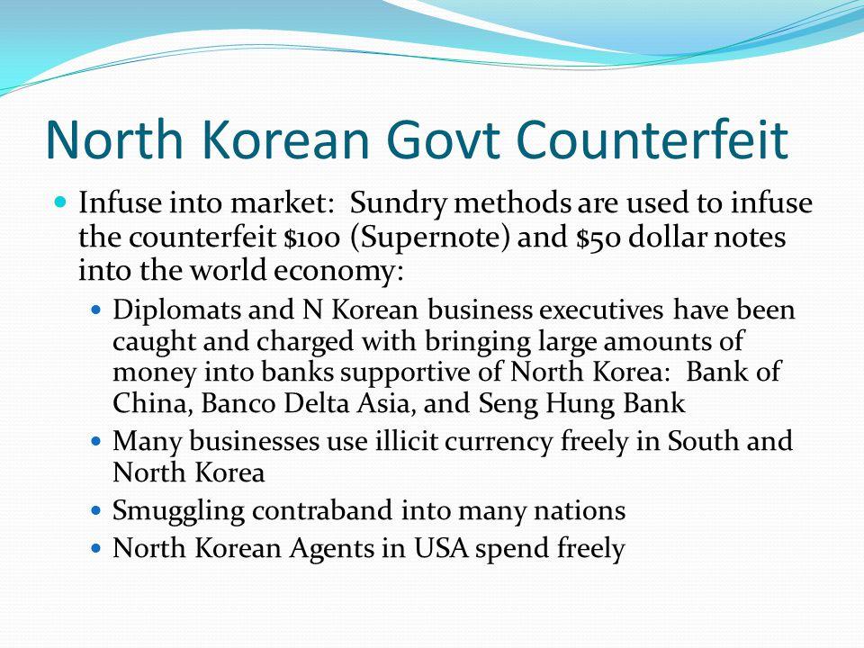 Counterfeiting US Dollars Act of War.