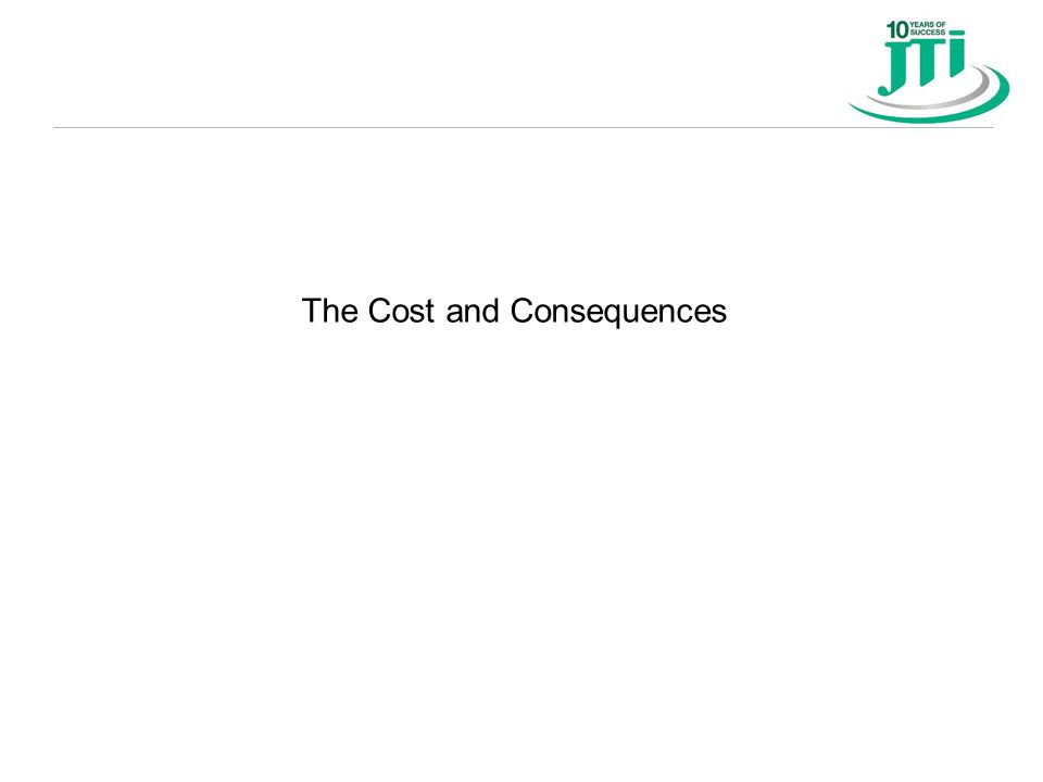 The Cost and Consequences