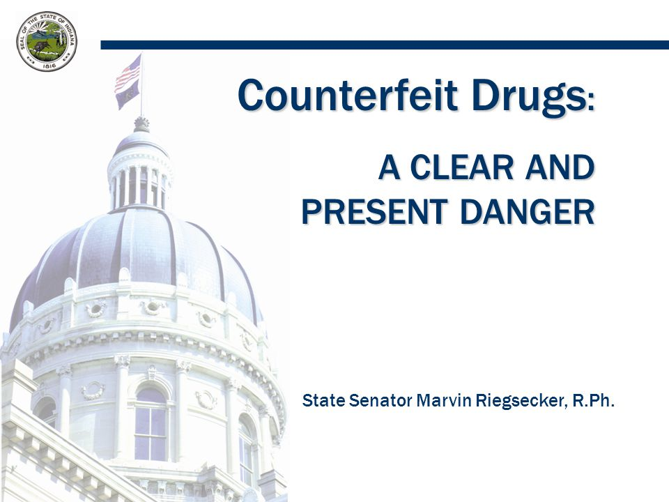 Prevalence of Drug Counterfeiting Counterfeit drugs are more prevalent in developing countries.