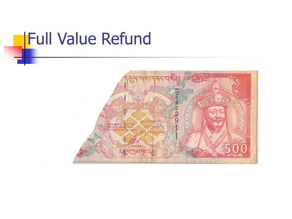 Full Value Refund