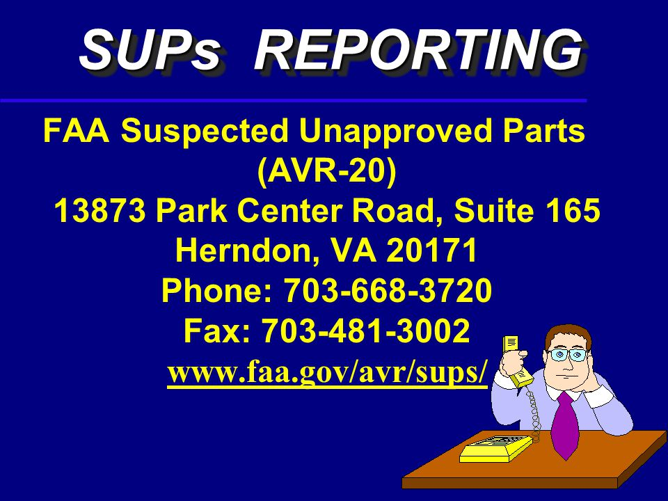 35 SUP IF A DETERMINATION CANNOT BE MADE, QUARANTINED THE PART, BECAUSE IT MIGHT REQUIRE REPORTING AS A SUP