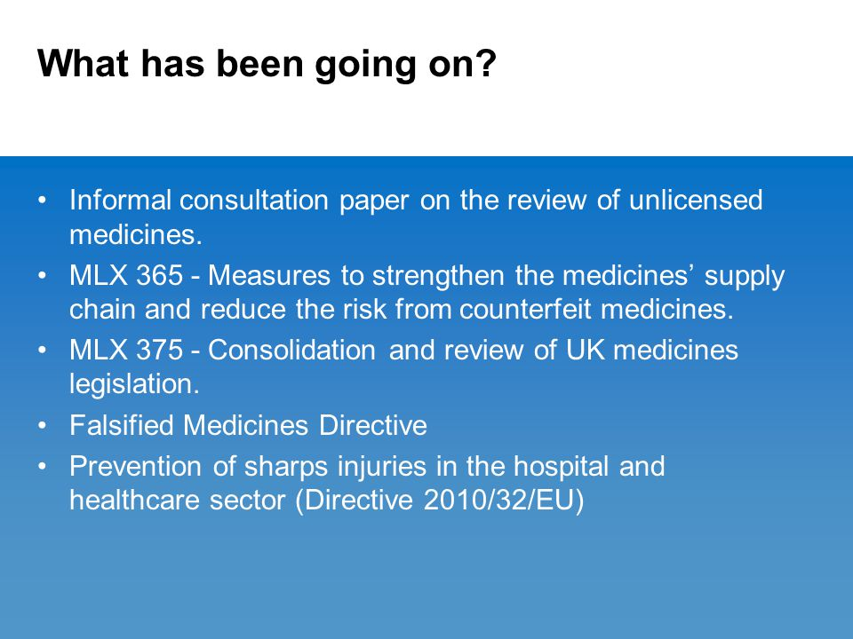 Prevention of sharps injuries in the hospital and healthcare sector - Directive 2010/32/EU (2).