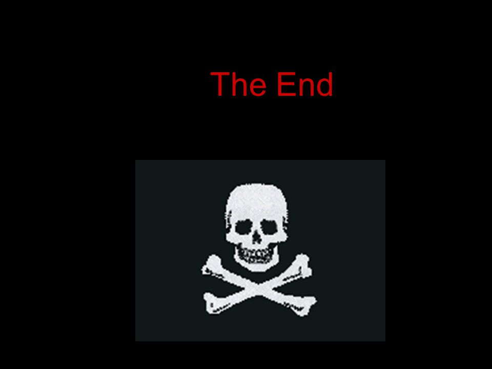 Software Piracy The End