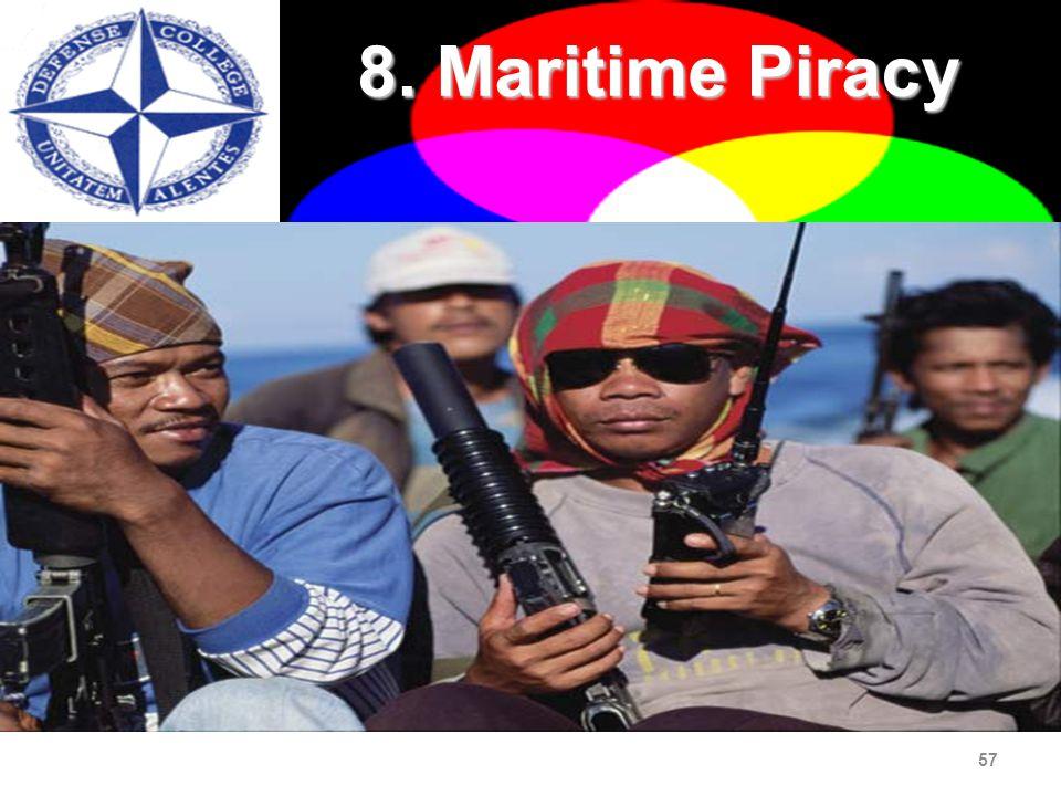 57 8. Maritime Piracy