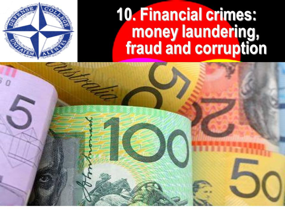 64 10. Financial crimes 10.