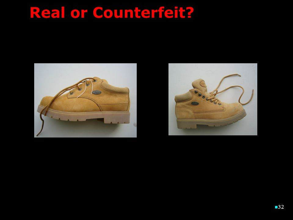 32 32 Real or Counterfeit?