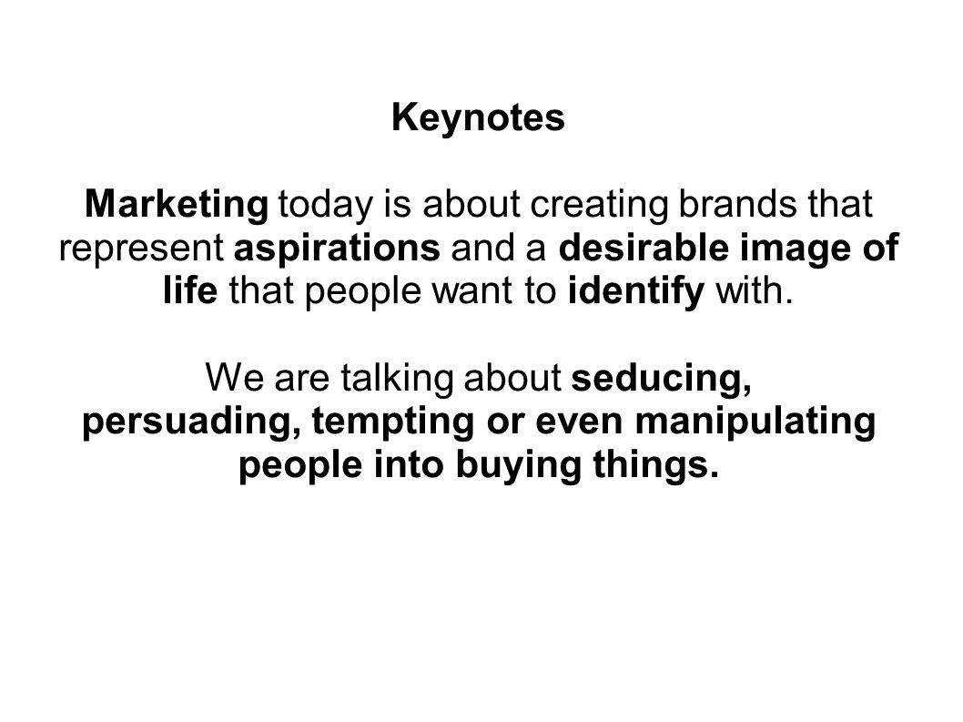 CONSUMER MARKETING and BRANDING What do the main activities of Marketing refer to.