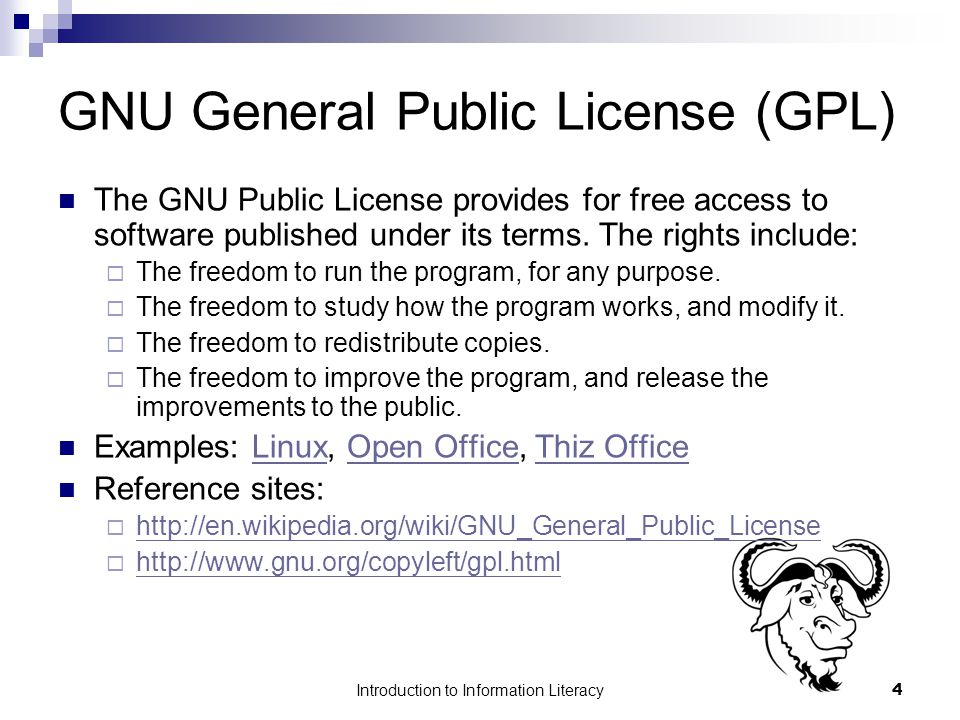 Introduction to Information Literacy5 Software Piracy Software piracy is the unauthorized and illegal duplication of copyrighted software.