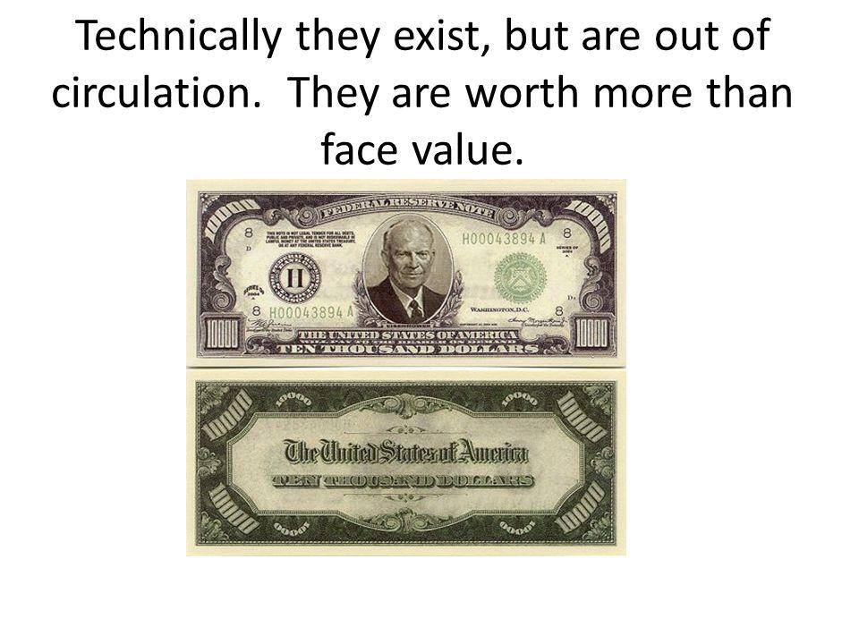 Counterfeit $20's
